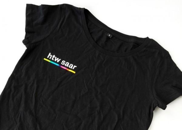 T-Shirt Damen schwarz